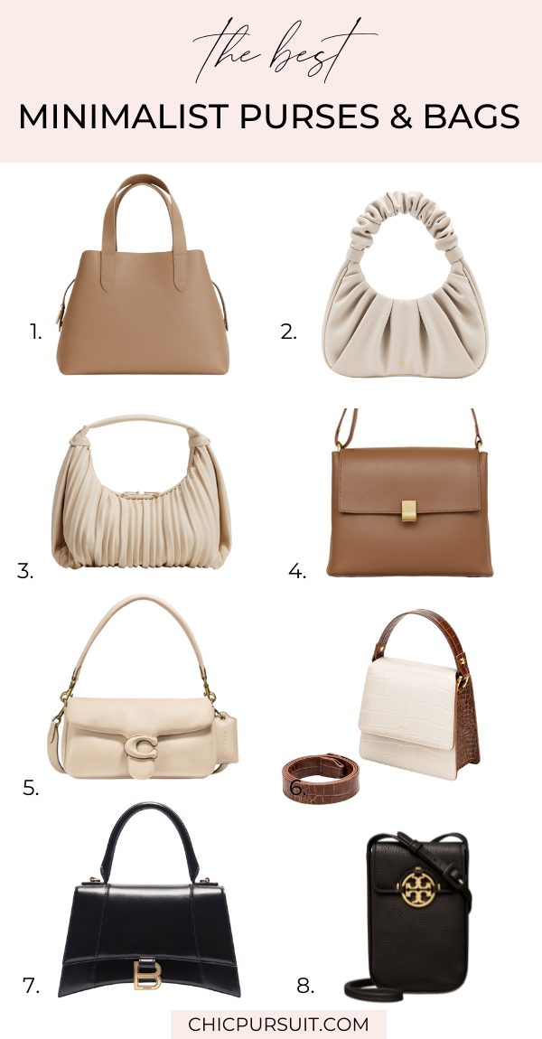 The best minimalist purses and bags in 2021