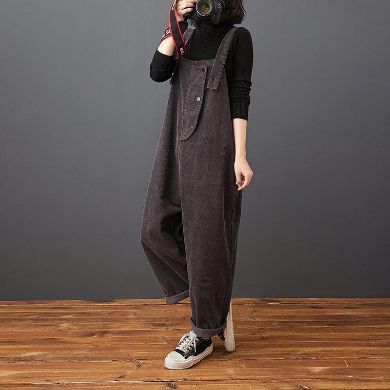 Black corduroy jumpers