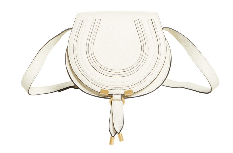 White Chloe Marcie bag