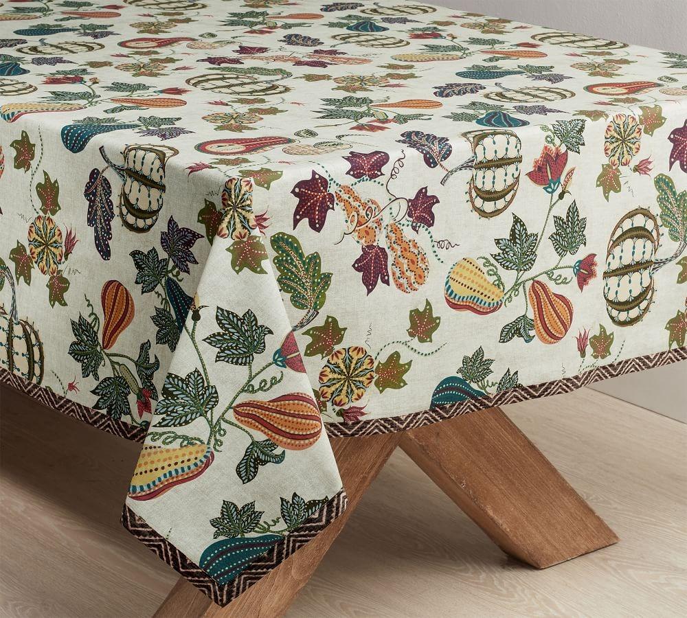 Rectangular Autumn Tablecloth