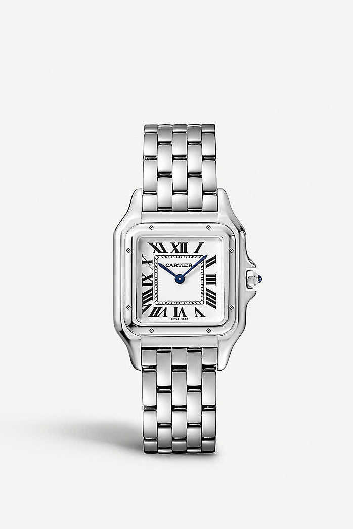 Best entry level luxury watches for women: Panthere de Cartier