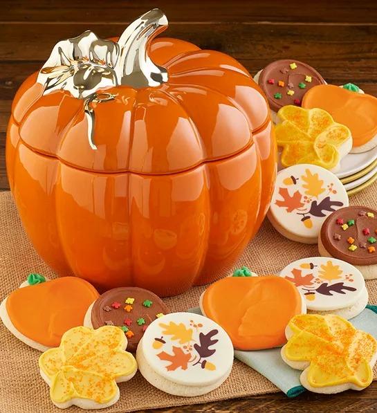 Pumpkin Fall Cookie Set