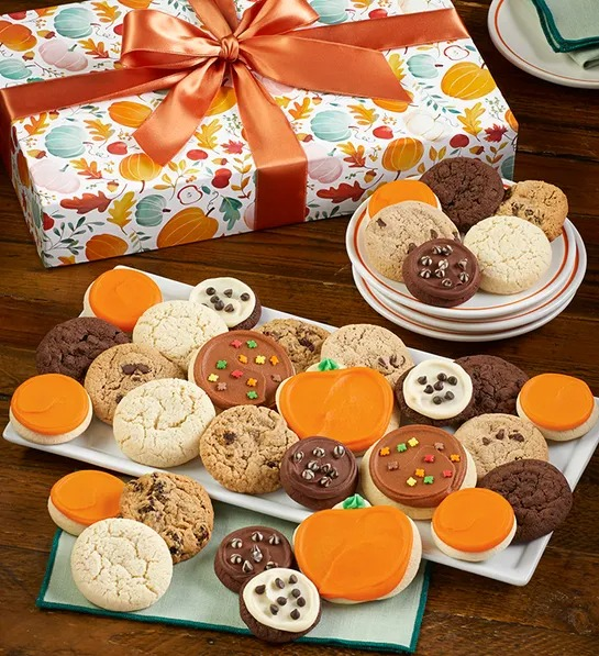 Fall Cookie Box