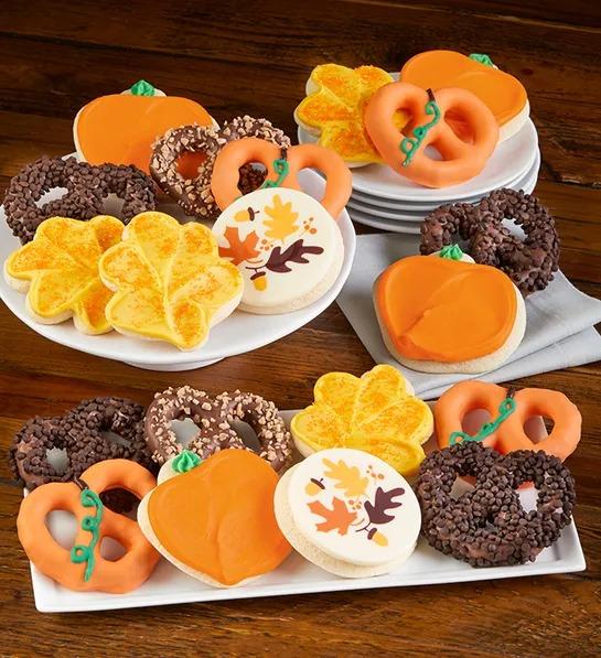 Fall Cookies & Pretzels
