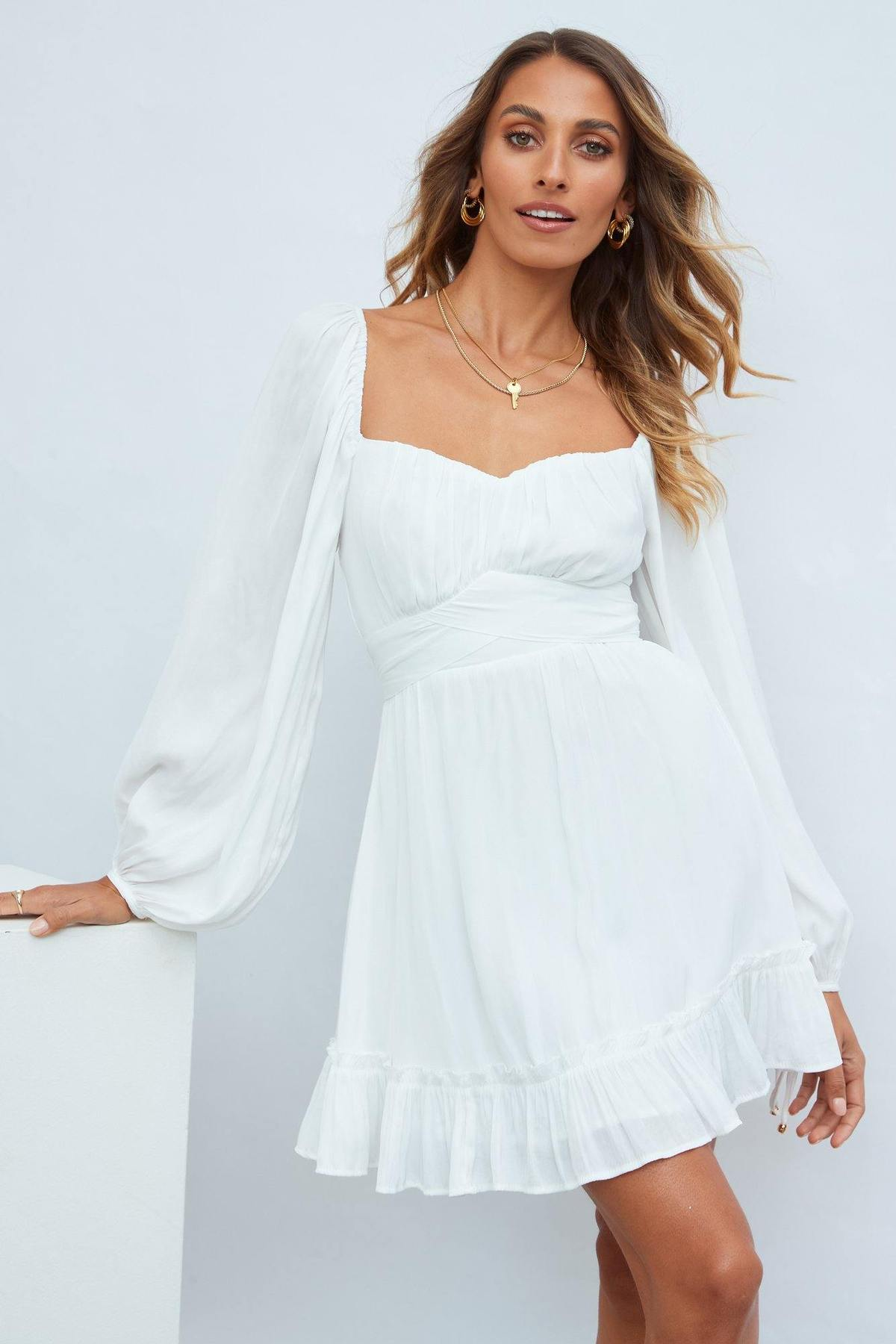 What To Wear To A Celebration Of Life: White dress