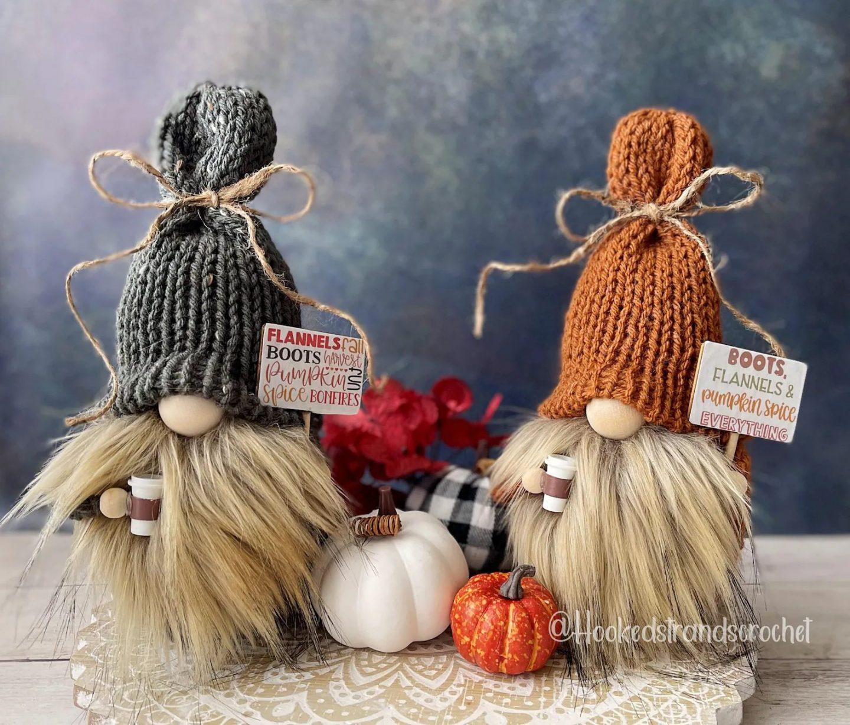 Pumpkin Spice Fall Gnomes