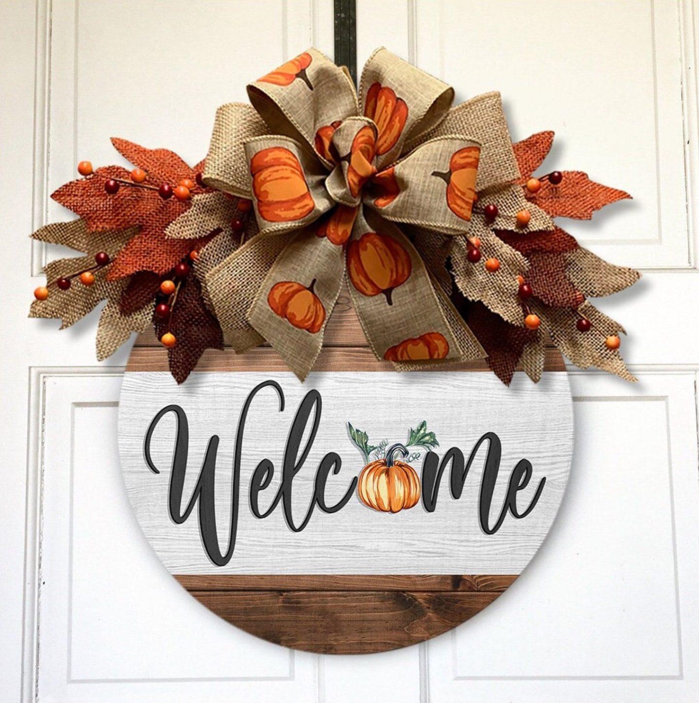 Welcome Fall Door Hanger