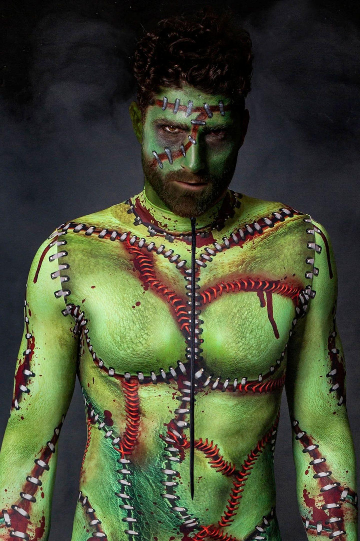 Frankenstein Halloween costume for men