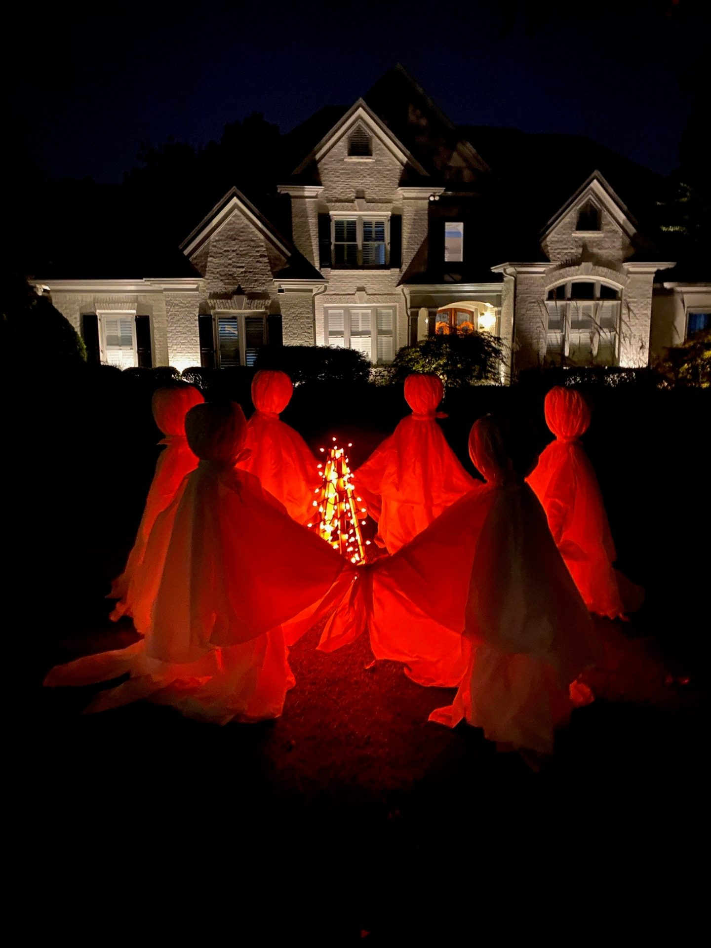 Halloween Yard Ghosts