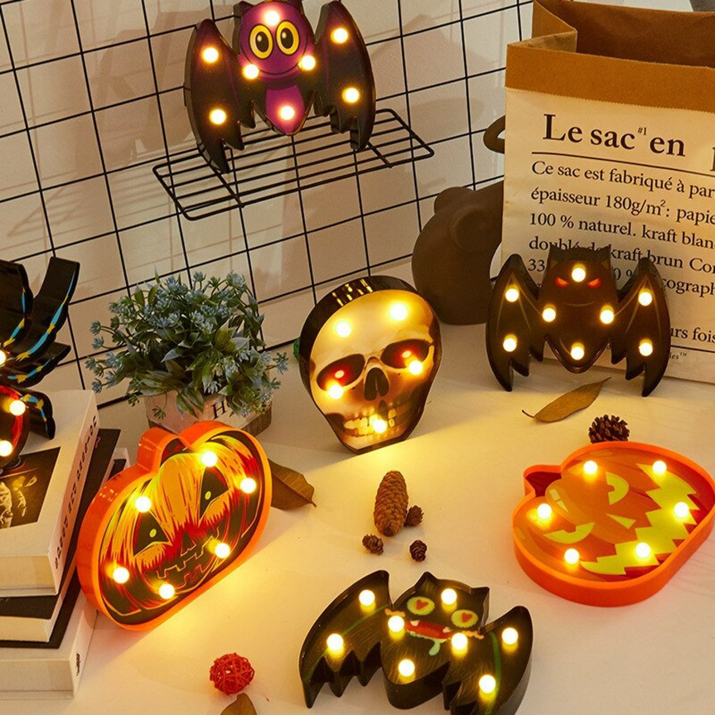 Halloween LED Light Signs