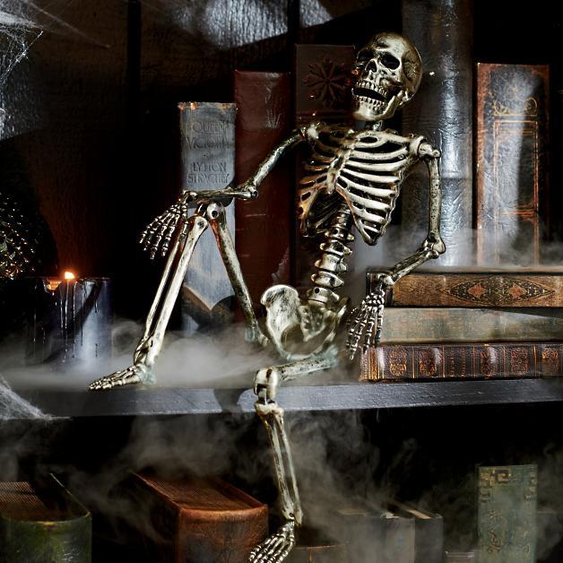 Tabletop skeleton indoor Halloween decor