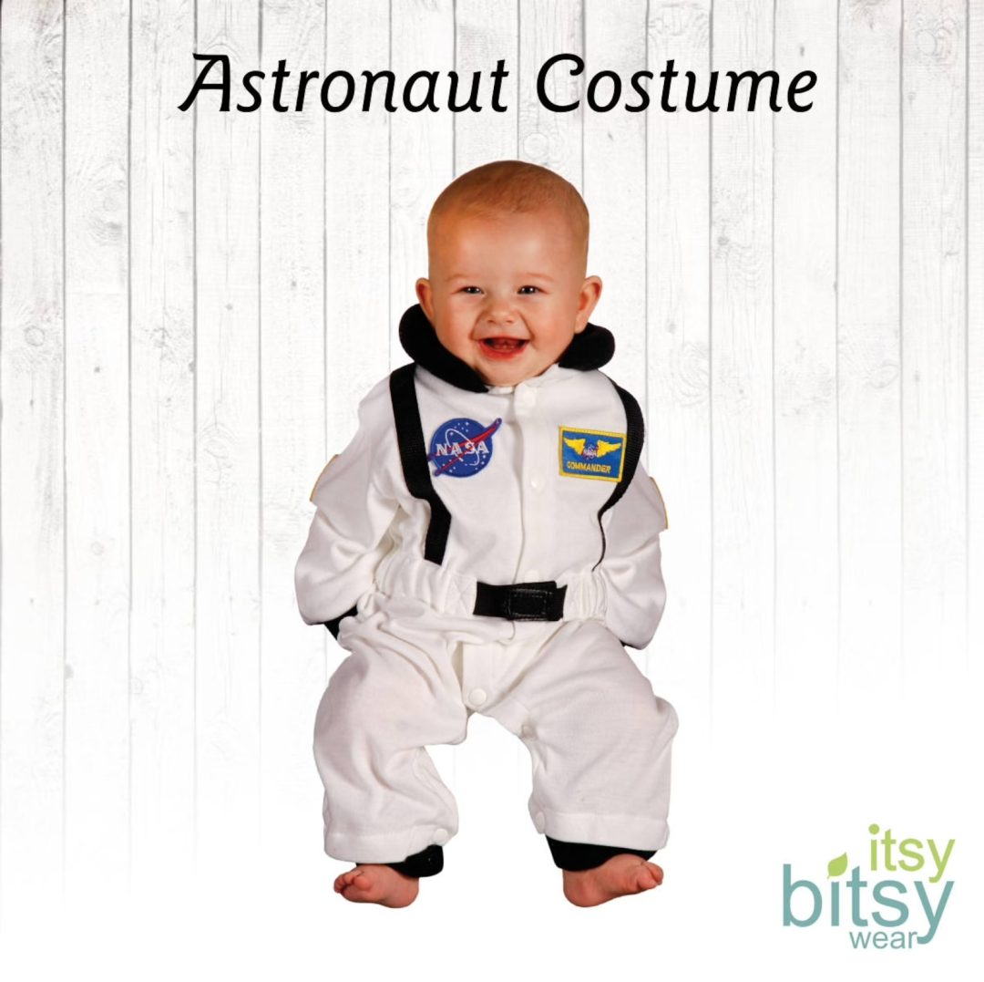 Baby astronaut onesie