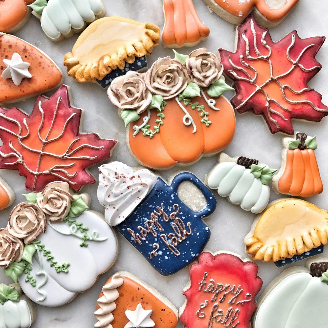 Rustic Thanksgiving Cookie Set