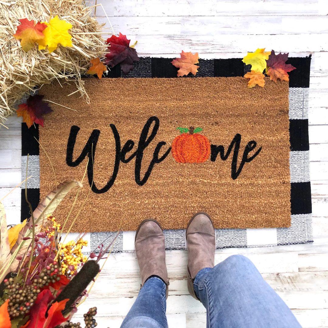 Welcome Fall Mat
