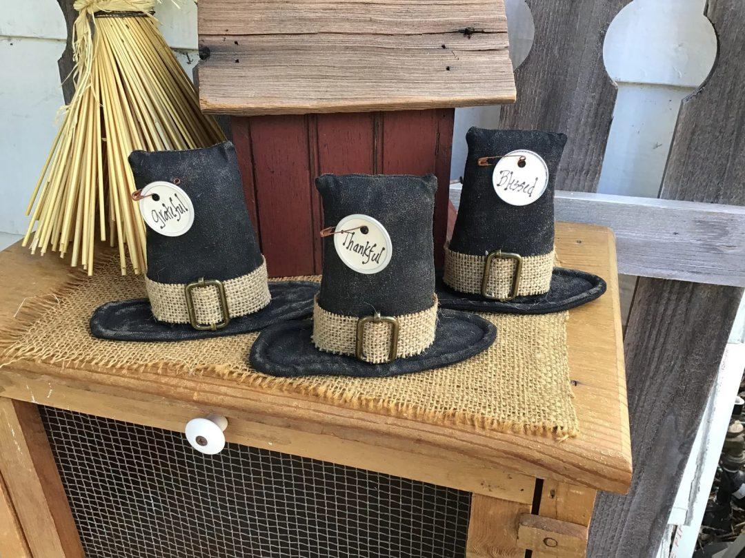 Thanksgiving Pilgrim Hats