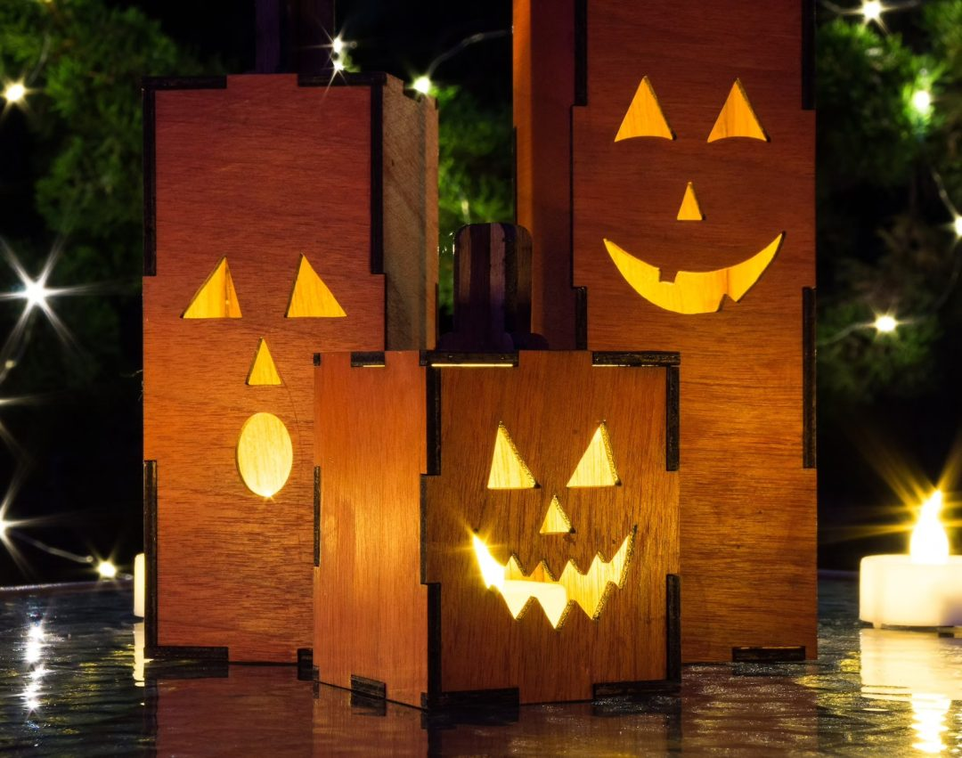 Light-Up Jack-O-Lanterns