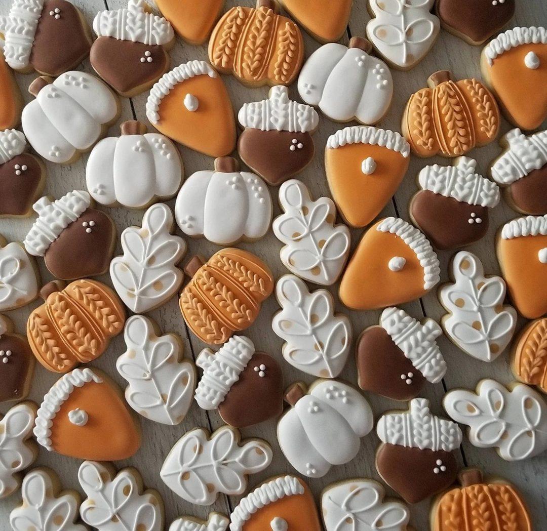 Mini Harvest Cookies
