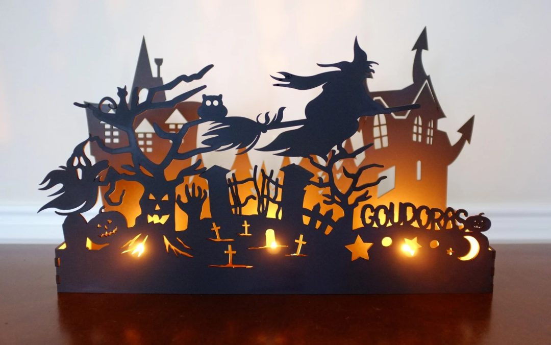 Halloween Candle Box