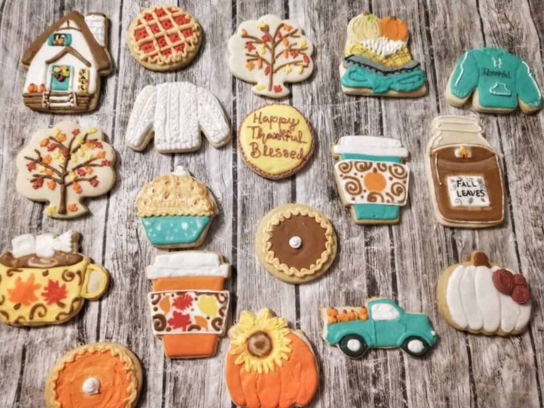Vegan fall Cookies