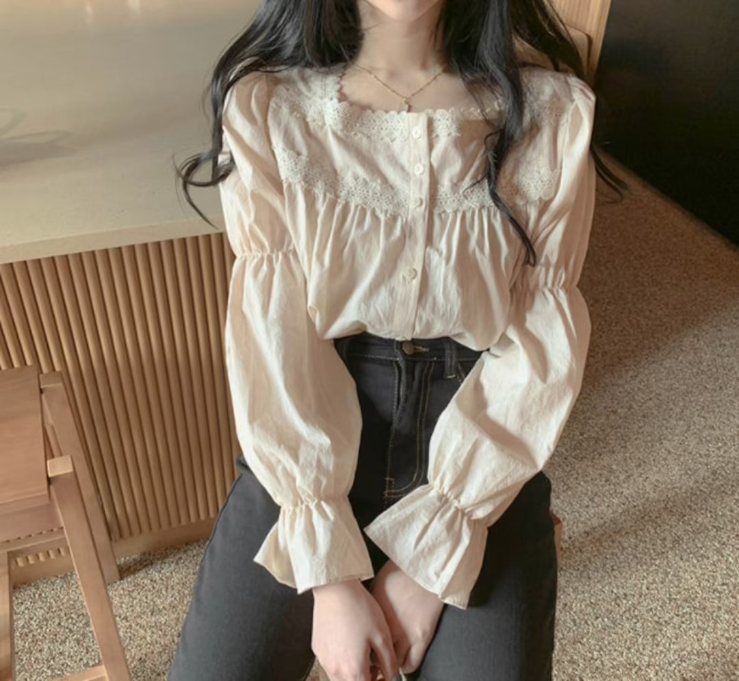 Light Academia Outfits: Blouse