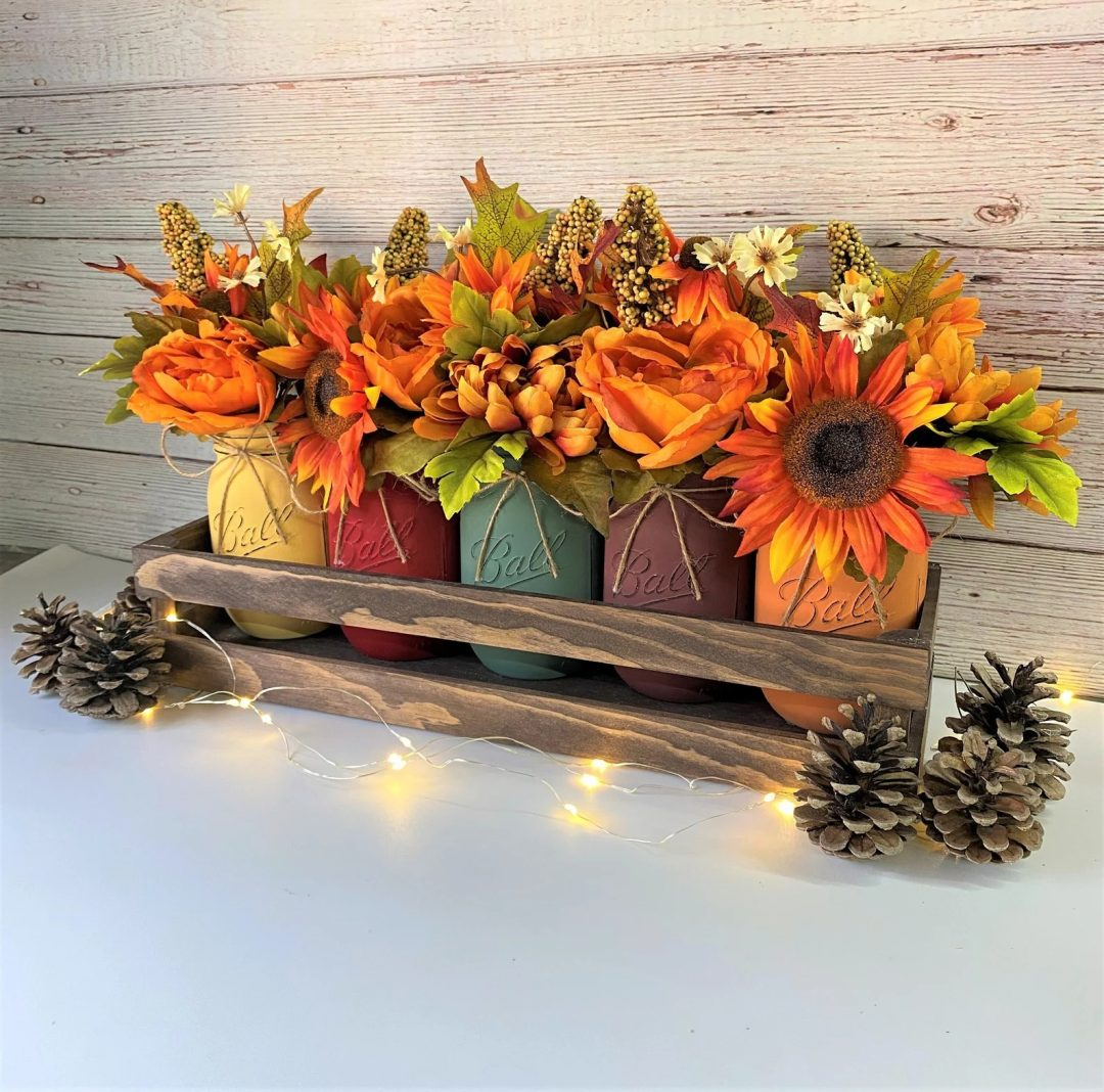 Sunflower Thanksgiving Centerpiece