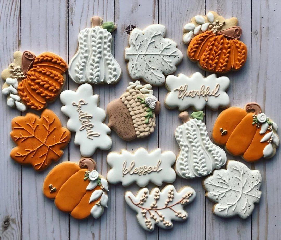 Sweater Pumpkin Cookies
