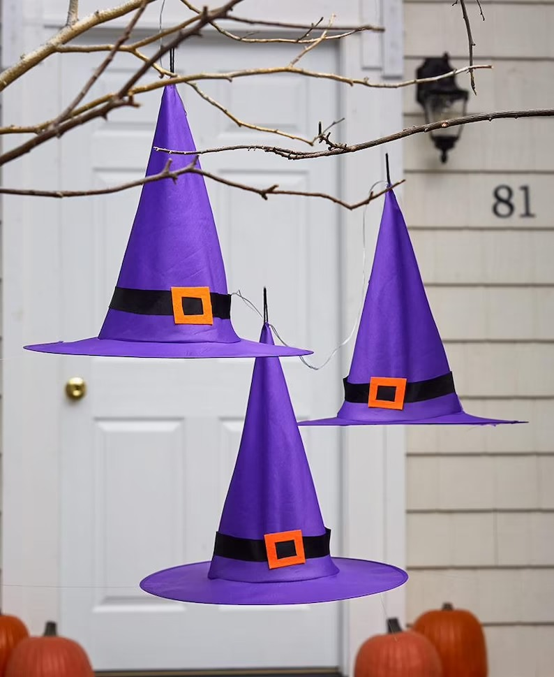 Purple Witch Hats