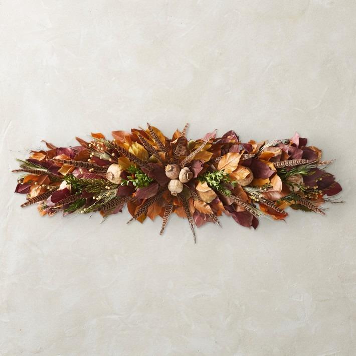 Thanksgiving Feather Centerpiece