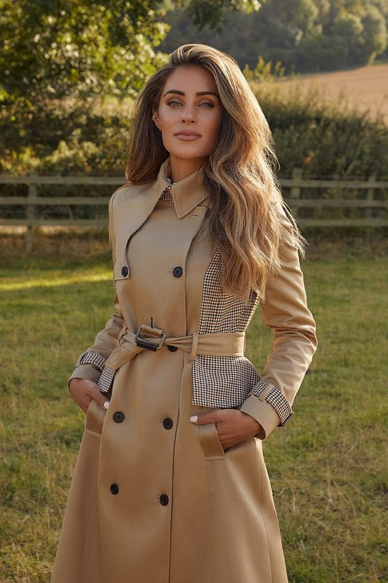 The best elegant fall outfits with trench coat