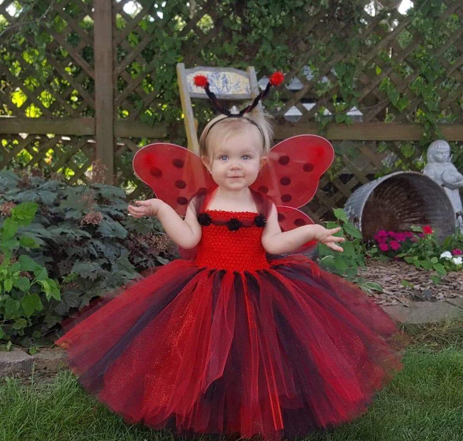 Ladybug Halloween costume for toddlers