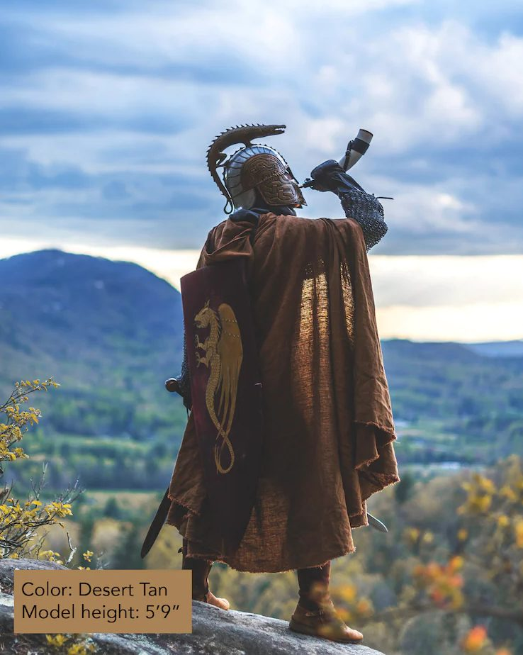 Medieval soldier Halloween costume for men