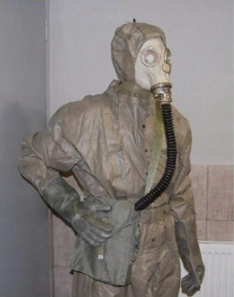 Chernobyl Halloween costume for men