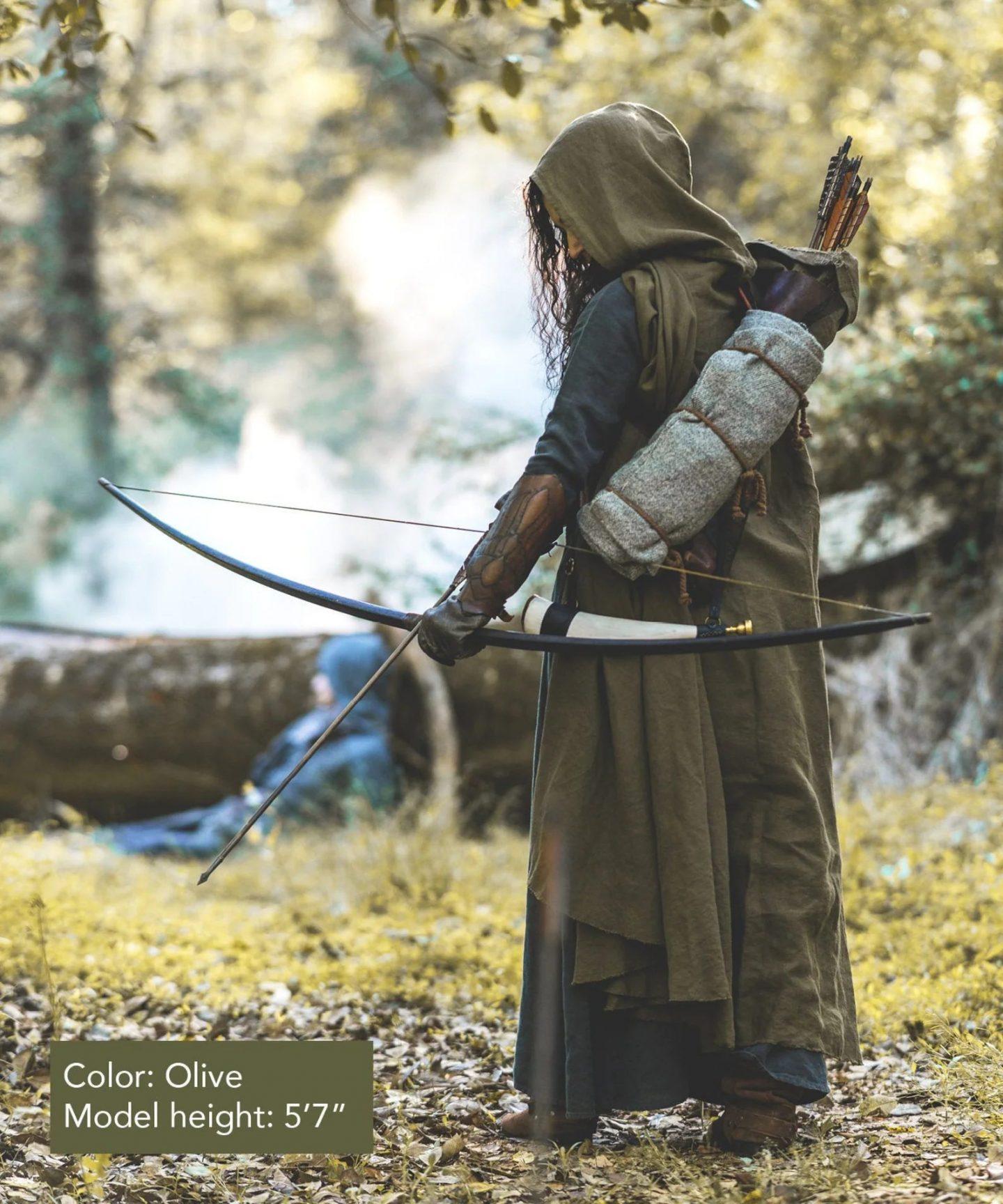 Medieval archer Halloween costume for men