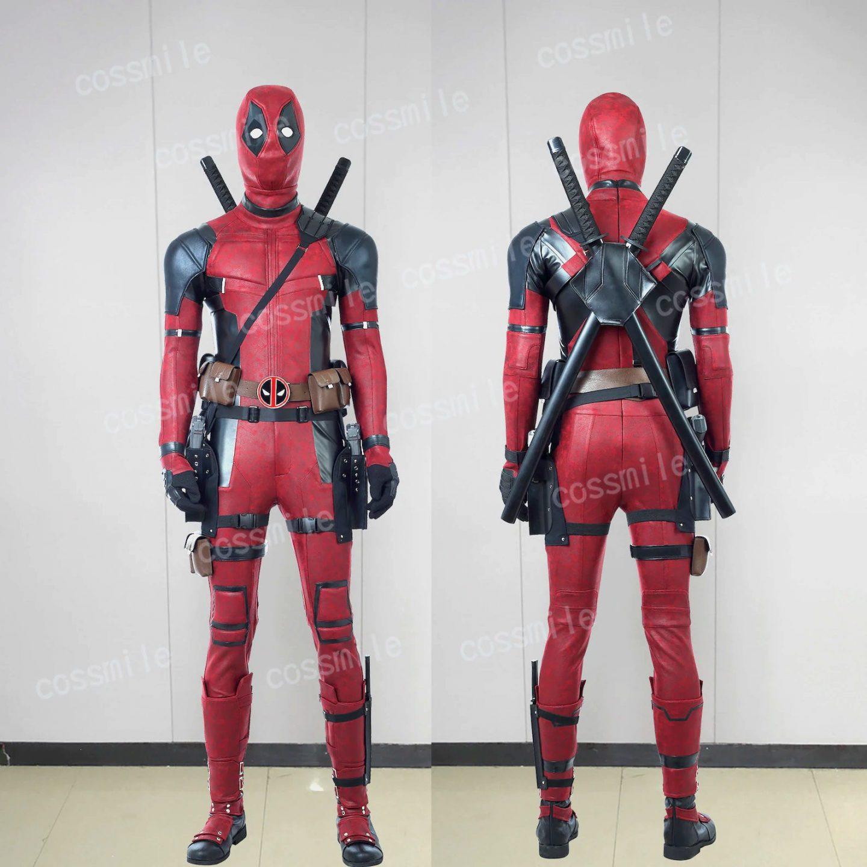 Deadpool Halloween costume for men