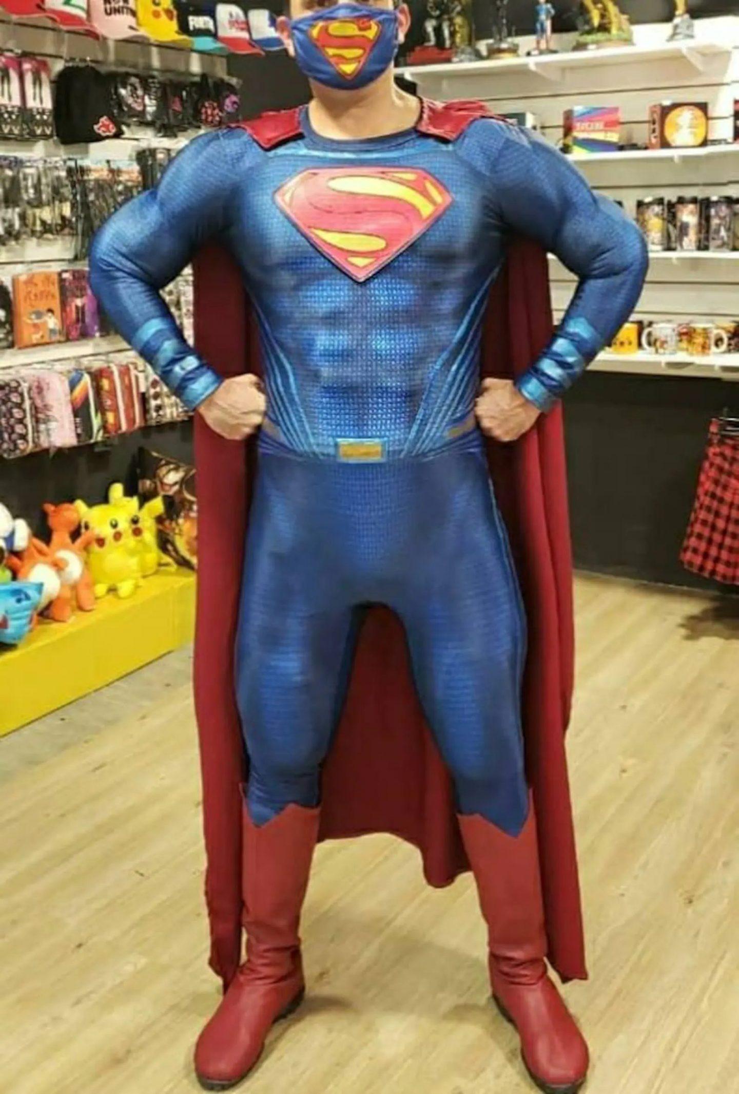 Superman mens Halloween costume