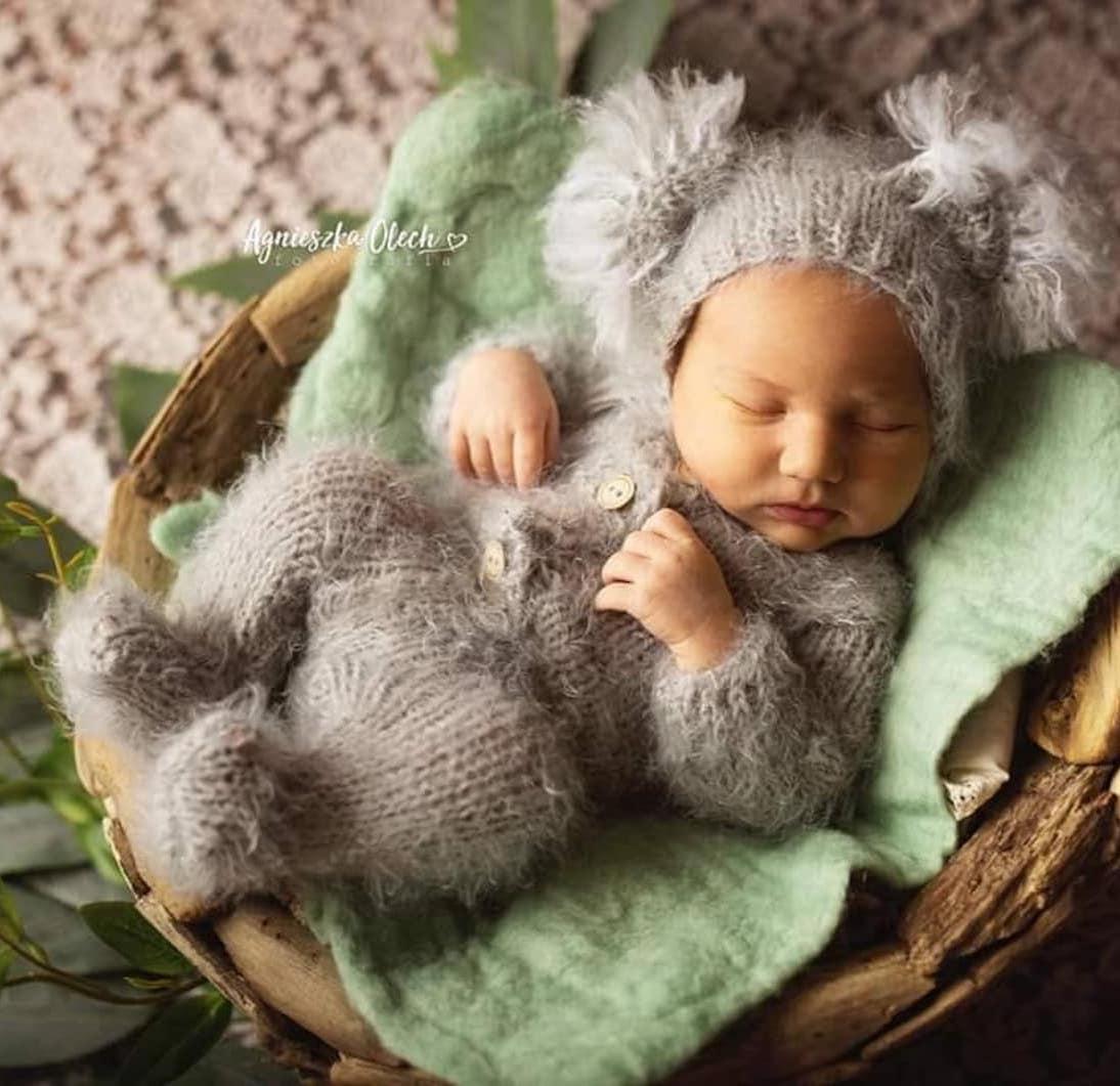 Newborn koala costume