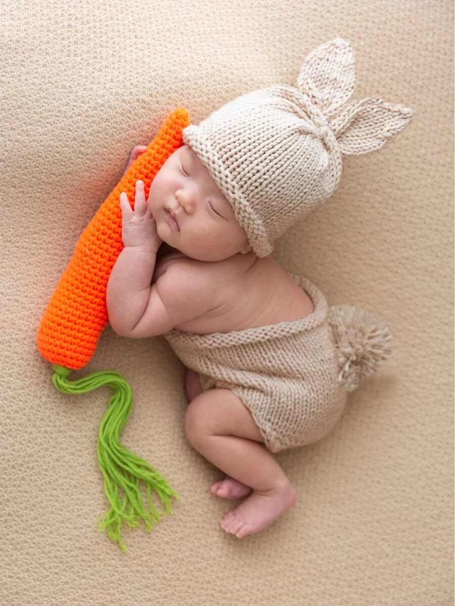 Baby bunny newborn Halloween costume