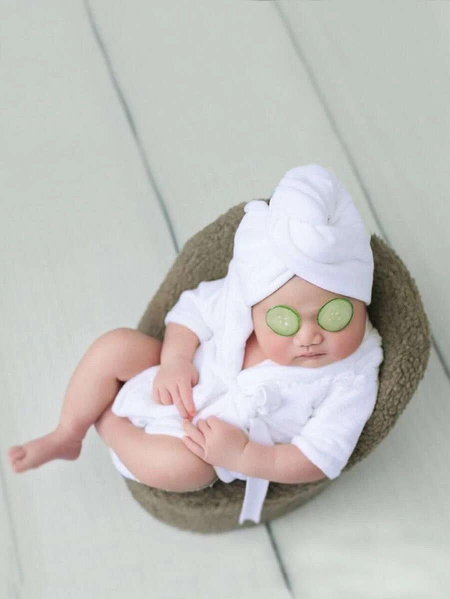 Spa Halloween costume for newborns