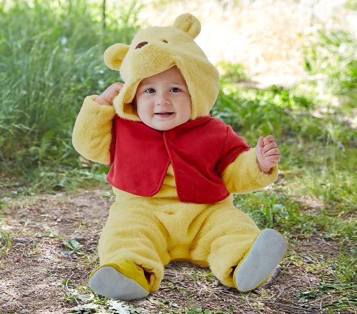 Winnie The Pooh newborn Halloween costume