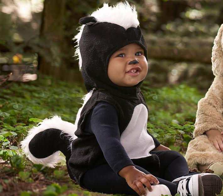 Skunk Halloween costume for infants