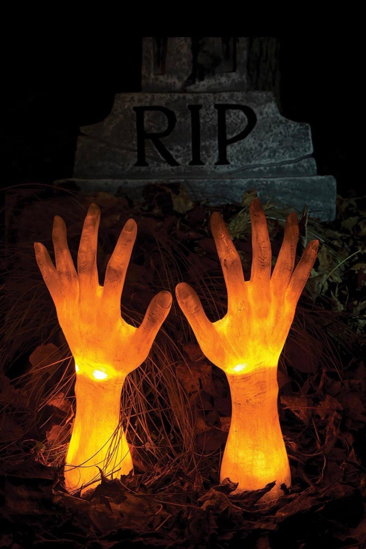 Halloween Light-Up Ground Breaker Arms