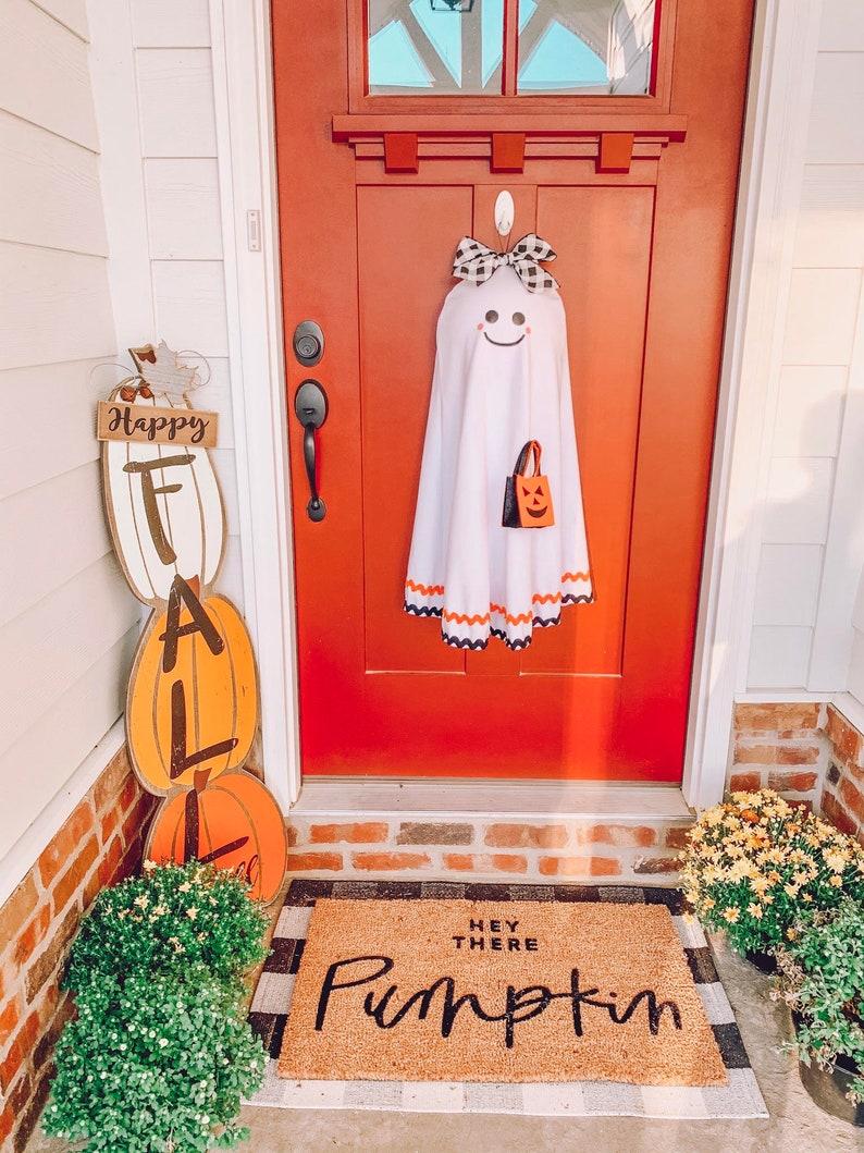 Cute Ghost Halloween Wreath