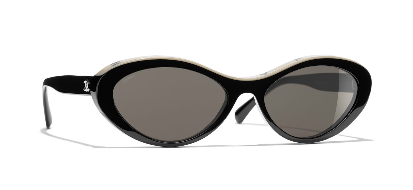 Best designer sunglasses for small faces: Chanel oval sunglasses