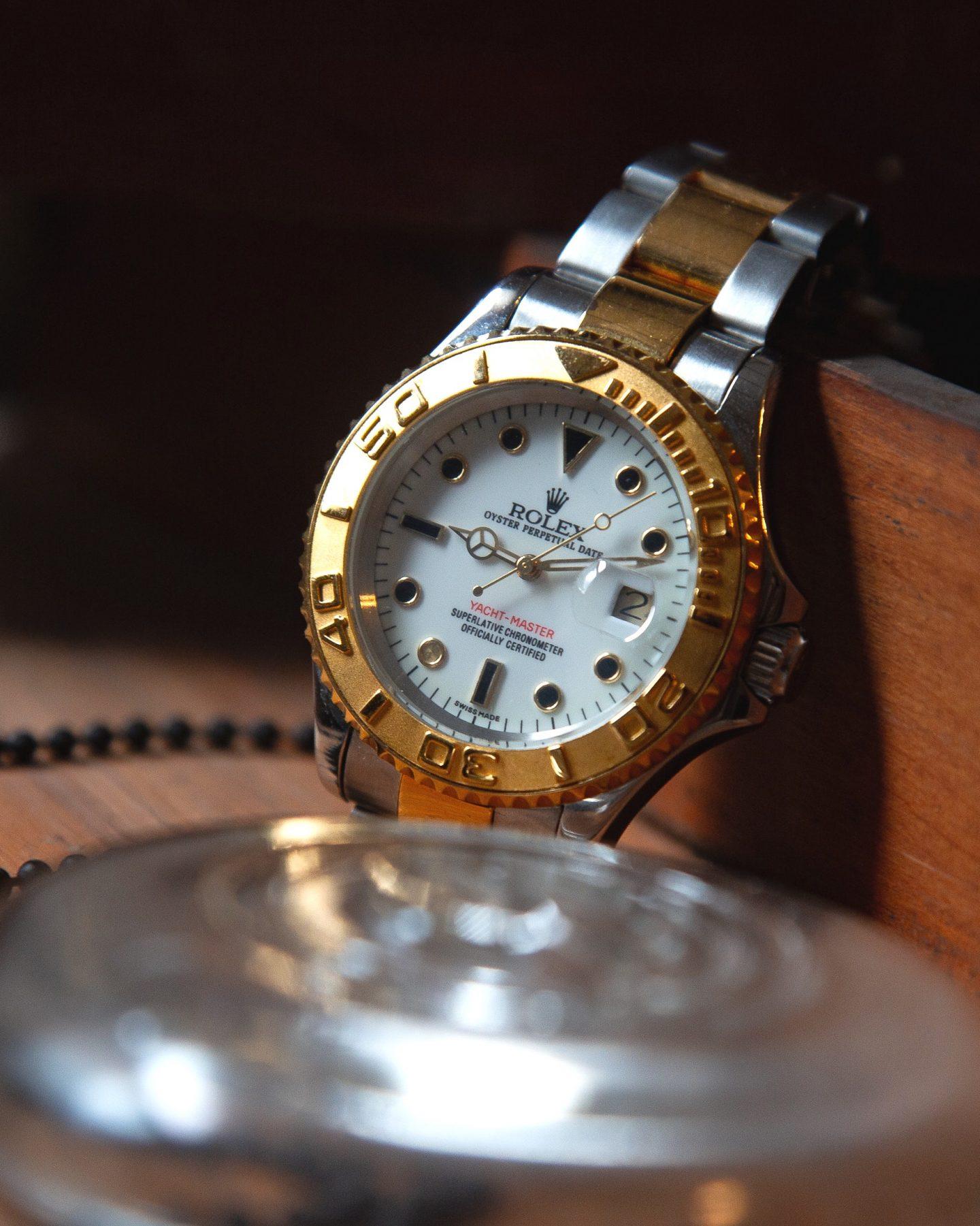 Best entry level luxury watches for women: Rolex Datejust