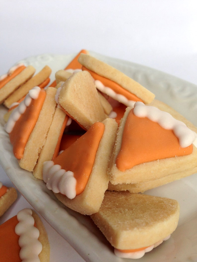 Mini pumpkin pie Thanksgiving cookies