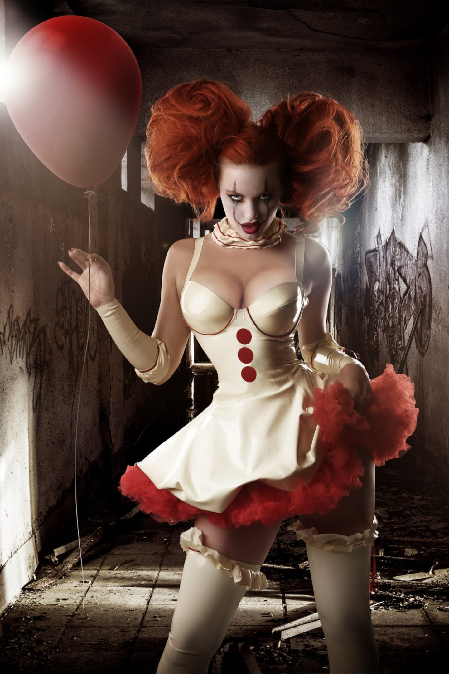 Hot Pennywise Halloween costume for women