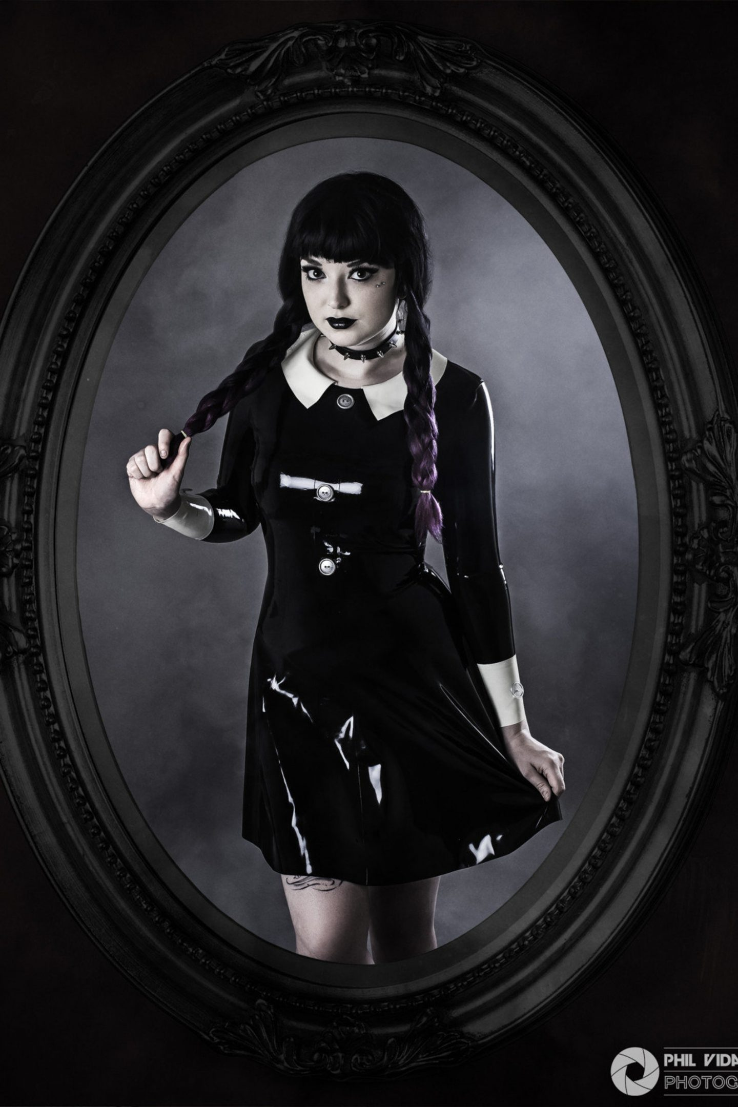 Wednesday Addams Family Halloween costume for women