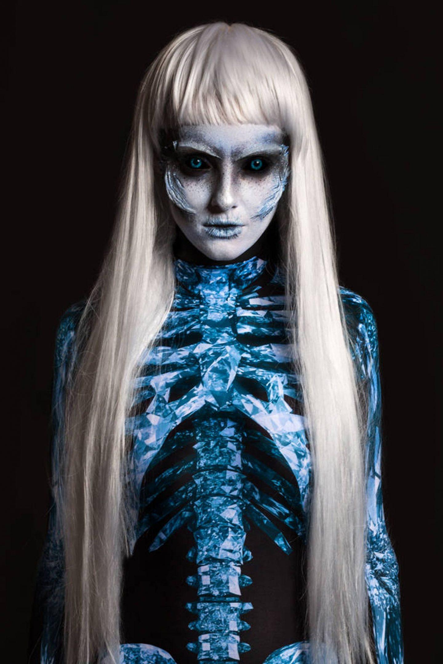 Scary Game Of Thrones skeleton Halloween costume