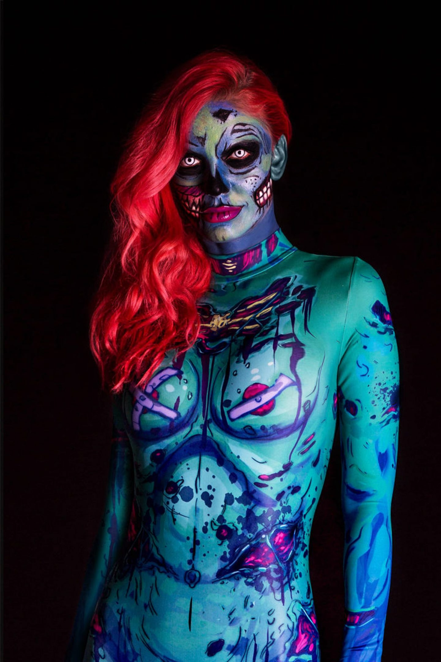 Zombie Halloween costume for women