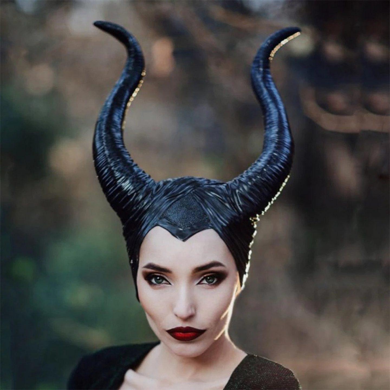 Maleficent Halloween costume for women